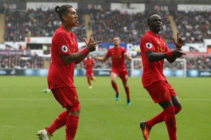 Mane, Firmino and Coutinho make Liverpool title contenders