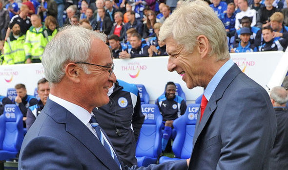 Claudio Ranieri disagrees with Arsene Wenger over title prediction: This is why