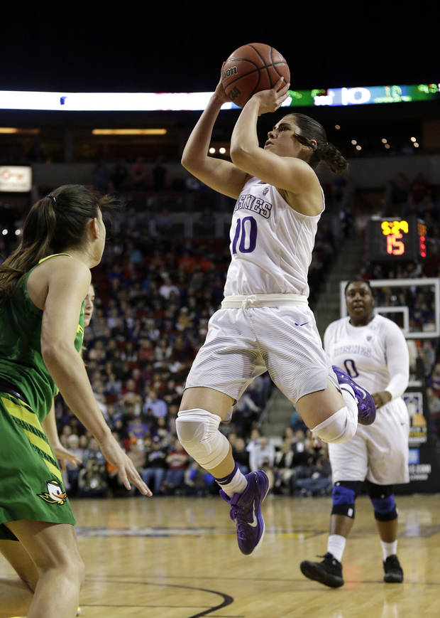 NCAA Women's Tournament: Sooners to face Washington, super scorer Kelsey Plum