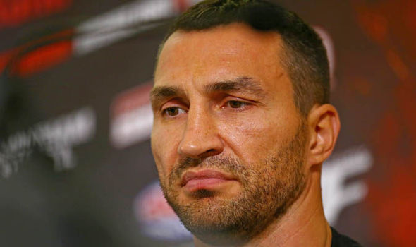 It's off: Wladimir Klitschko fight with Anthony Joshua delayed by injury to Ukrainian