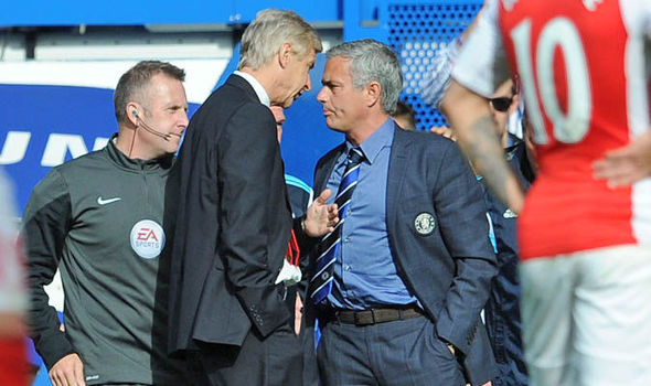 Arsene Wenger discusses handshake with Jose Mourinho