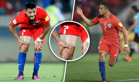Alexis Sanchez scores stunning double for Chile... so will he play for Arsenal at Man Utd?