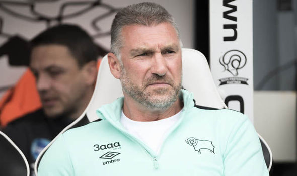 Derby County part company with Nigel Pearson after just four months in charge