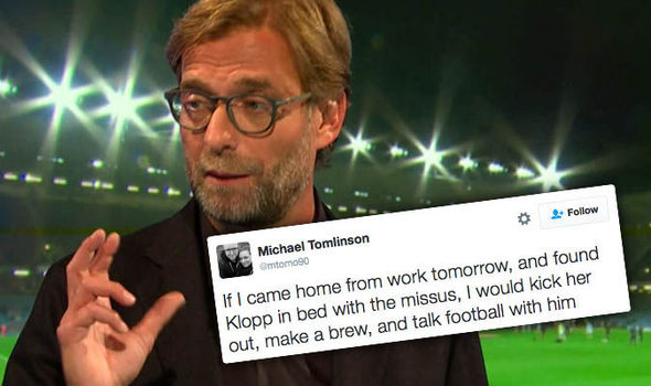He could murder my goldfish! Twitter reacts as Jurgen Klopp nails Monday Night Football