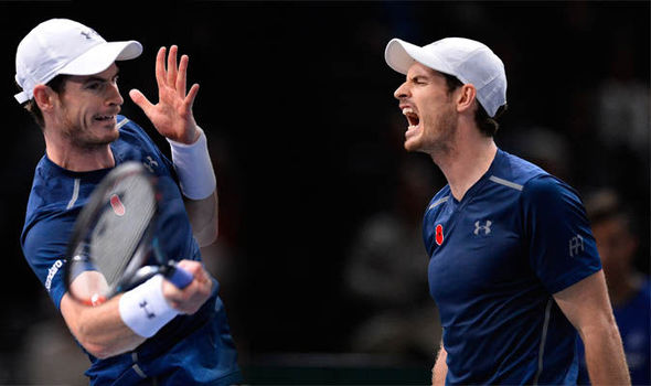 "Andy Murray ""worked hard"" to reach world number one spot"