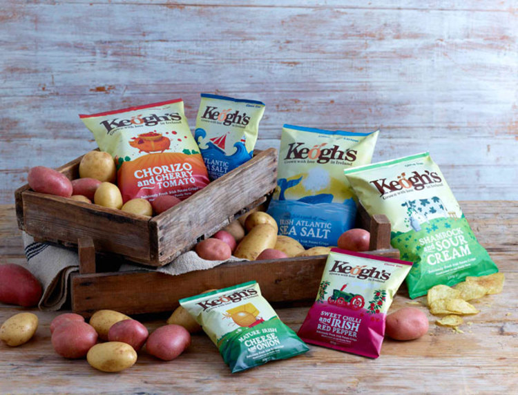Keogh's Crisps flying high with Emirates deal