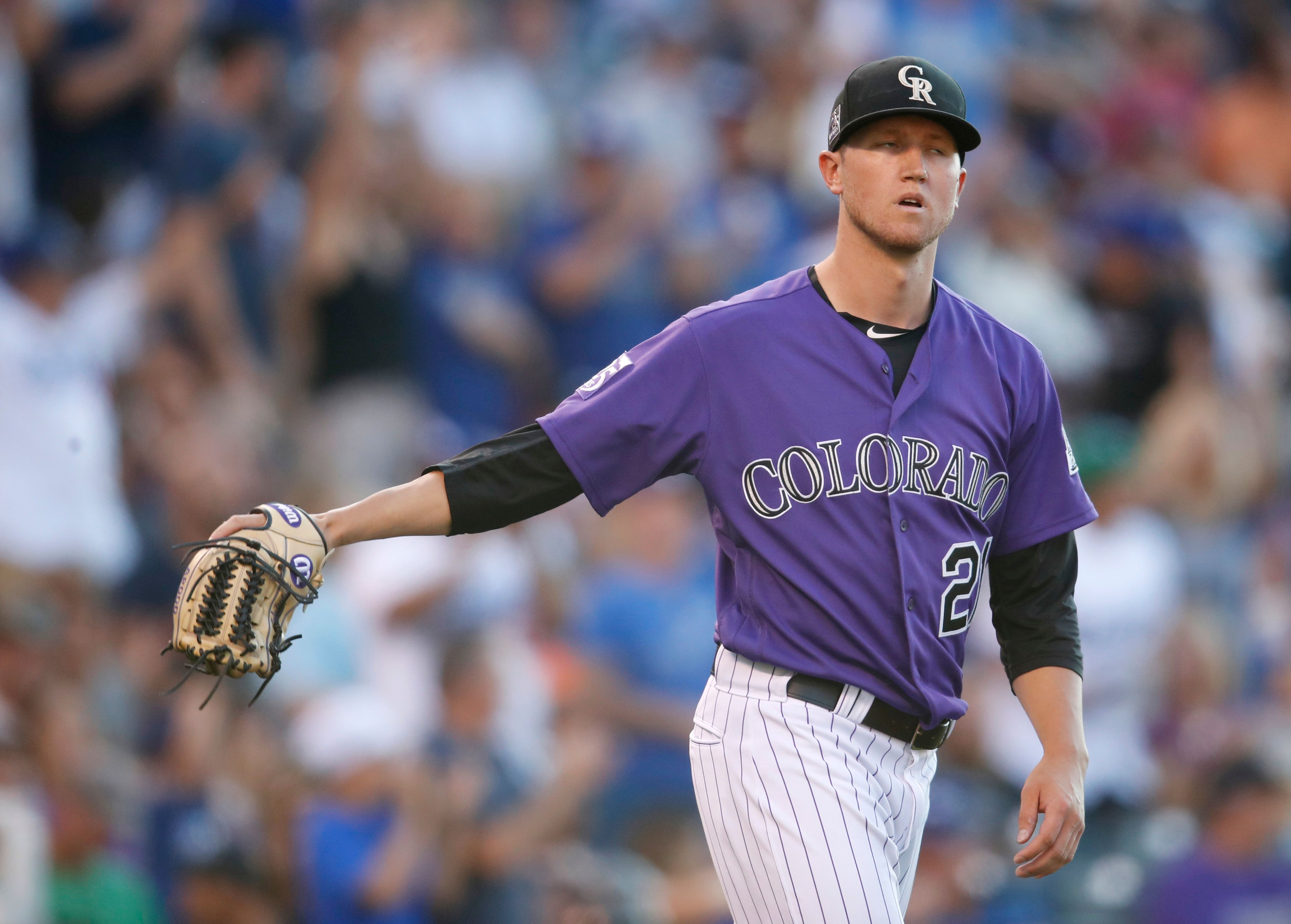 McMahon's 3-run homer lifts Rockies past Dodgers 3-2