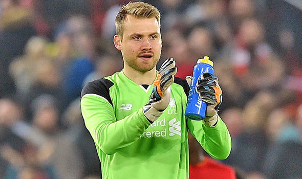 Liverpool goalkeeper Simon Mignolet confident of regaining No 1 spot from Loris Karius