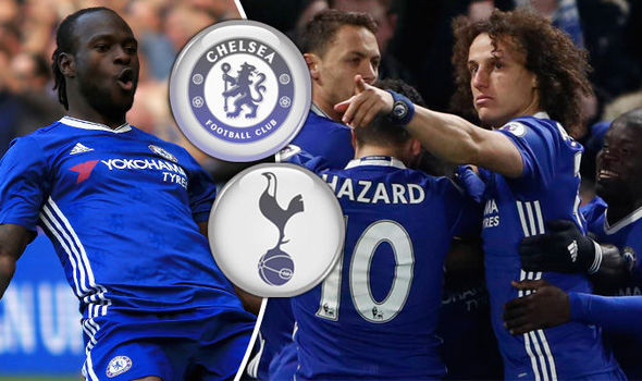 Chelsea 2 - Tottenham 1: Pedro and Victor Moses secure London bragging rights for Blues
