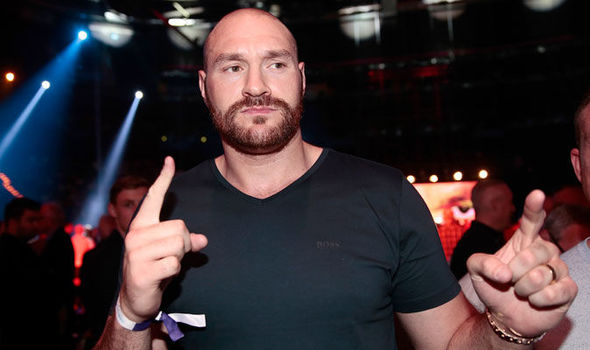 Tyson Fury 'likely to be stripped of his belts after testing positive for cocaine'