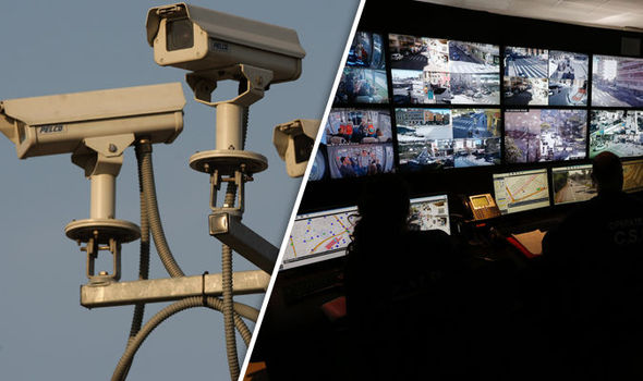 CCTV FARCE: Surveillance society continues to grow with cameras for one in every 10 Brits