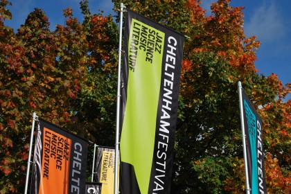 A world of words at the Cheltenham Literature Festival