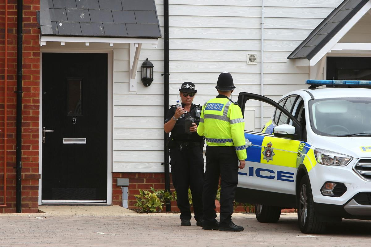 U.K. police say small bottle of nerve agent found in home of poisoning victim