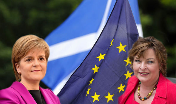 SNP minister forced to defend Nicola Sturgeon's 'impossible' Brexit deal for Scotland