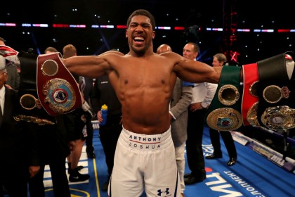 Anthony Joshua vs. Deontay Wilder: 250,000 fans vote to see mega-fight