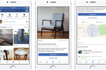 Facebook Marketplace to take on eBay and Craigslist