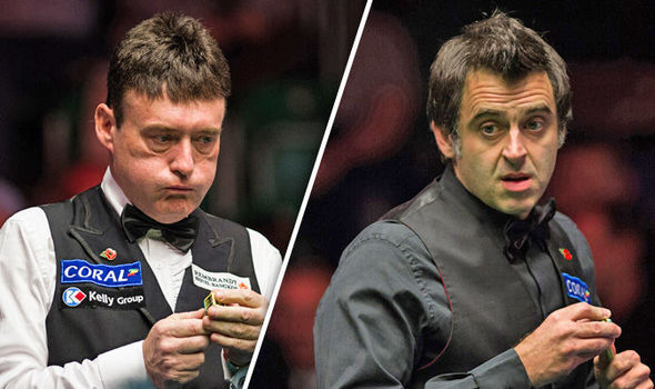 Ronnie O'Sullivan and Jimmy White in throwback clash at Northern Ireland Open