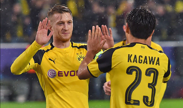 Borussia Dortmund 8 - Legia Warsaw 4: Records galore as Marco Reus nets hat-trick