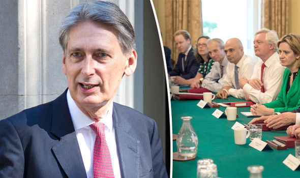 Treasury denies Chancellor Philip Hammond about to QUIT over cabinet Brexit rift