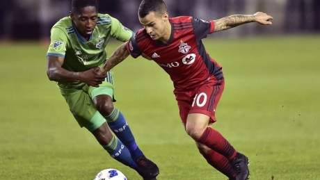 TFC's Giovinco to sit out first leg of Canadian Championship final