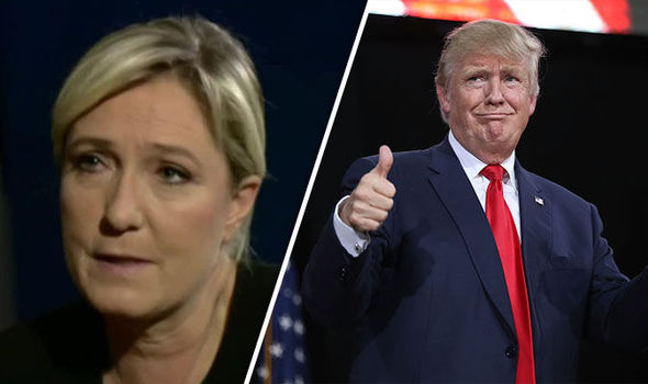 Trump paved the way to defeat 'Islamic fundamentalism' and the EU, lauds Marine Le Pen