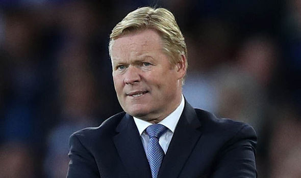Everton boss Ronald Koeman: Talk of us winning the Premier League is crazy