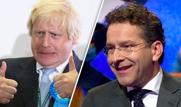 Dutch finance minister blasts Boris Johnson for offering 'impossible' Brexit deal