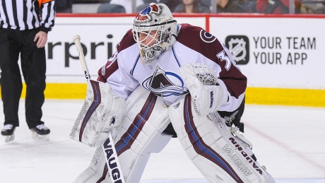 Avalanche goalie Calvin Pickard 1st selection for Vegas Golden Knights