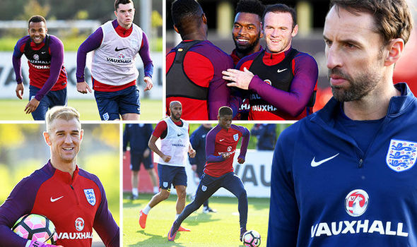 Gareth Southgate gets to grips with the England players as he prepares for Malta