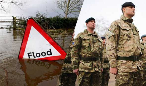 WINTER FLOOD PLAN: 1,200 soldiers on standby ready to tackle flooding