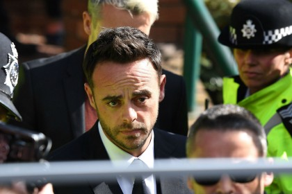 Ant McPartlin 'truly sorry' for drink-driving