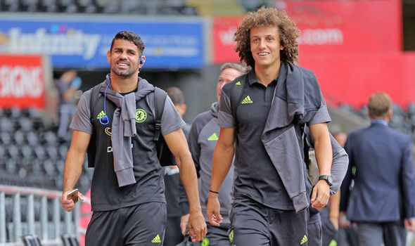 David Luiz: This is what I think of my Chelsea team-mate Diego Costa