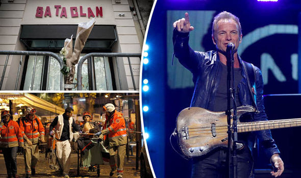 Sting to reopen the Bataclan in Paris before the anniversary of the terror attacks