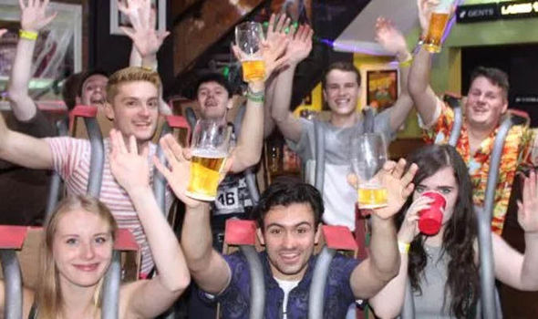 Fury as students dress up as Alton Towers victims for fancy dress pub crawl