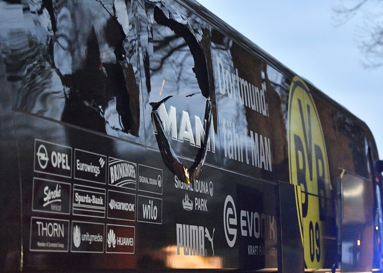 Man jailed for 14 years over attack on Borussia Dortmund football team bus