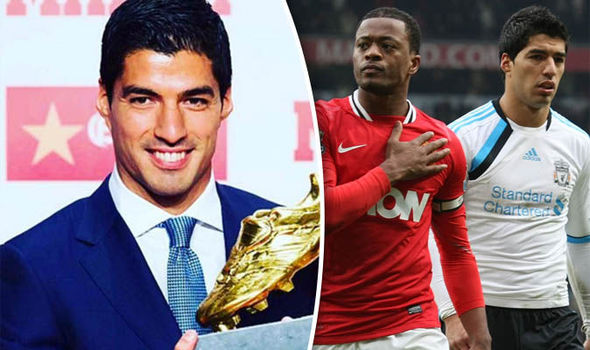 This is what ex-Man United ace Patrice Evra said to Luiz Suarez in social media post