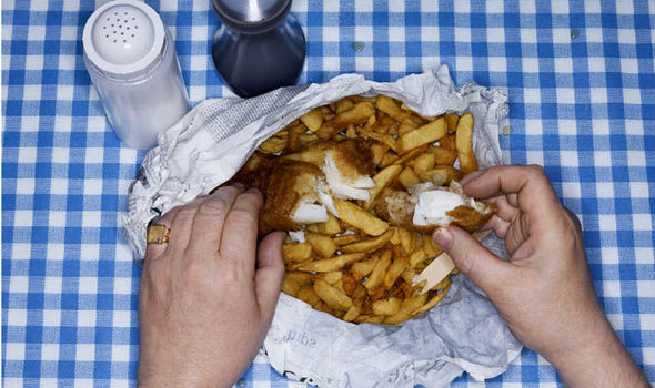 Fish and chip shops urged to help cut OBESITY by serving standard portions