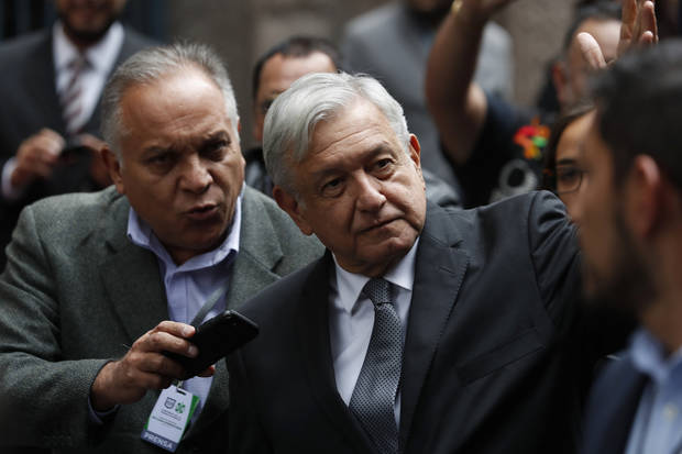 Mexico's leftist president rails against big government