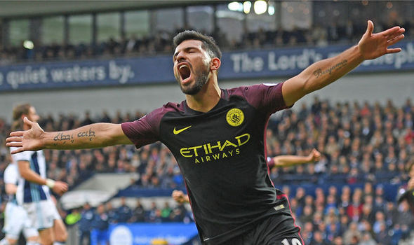 West Brom 0 - Man City 4: Sergio Aguero double helps end Pep Guardiola's winless run