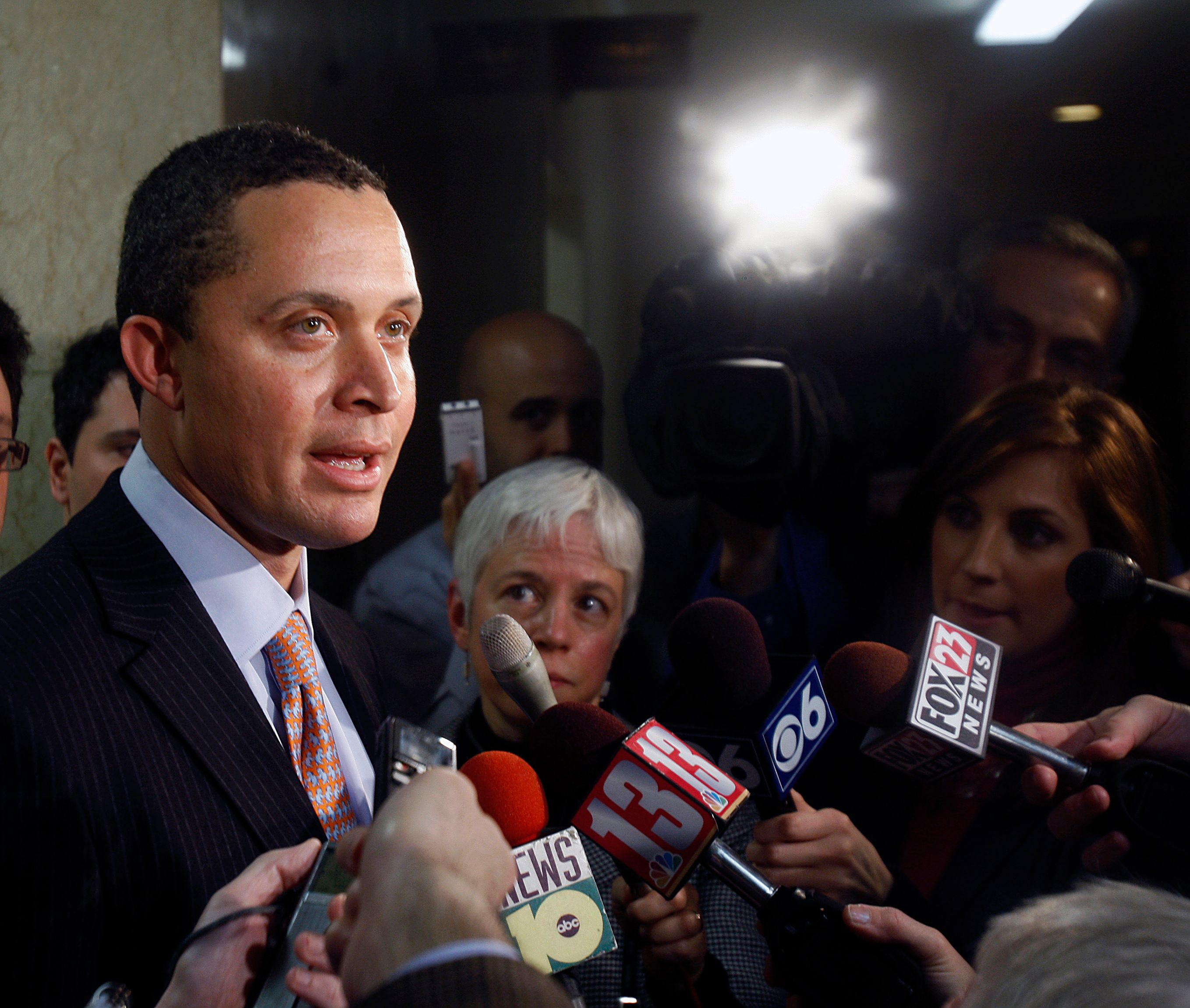 Harold Ford Jr. won't contribute to MSNBC until resolving allegations
