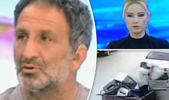 Moment man breaks down and confesses to raping and murdering four-year-old girl on live TV