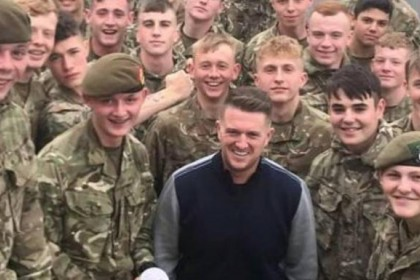 Why Army is investigating video of Tommy Robinson and soldiers