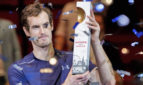 Andy Murray: World No1 ranking close after victory in Vienna