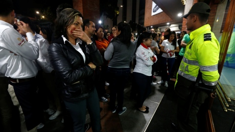 Bombing at mall in Colombia kills 3 women