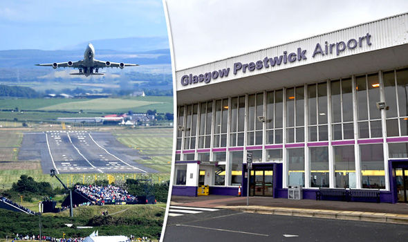 BREAKING NEWS: Typhoon jets scrambled to escort passenger plane to Prestwick Airport