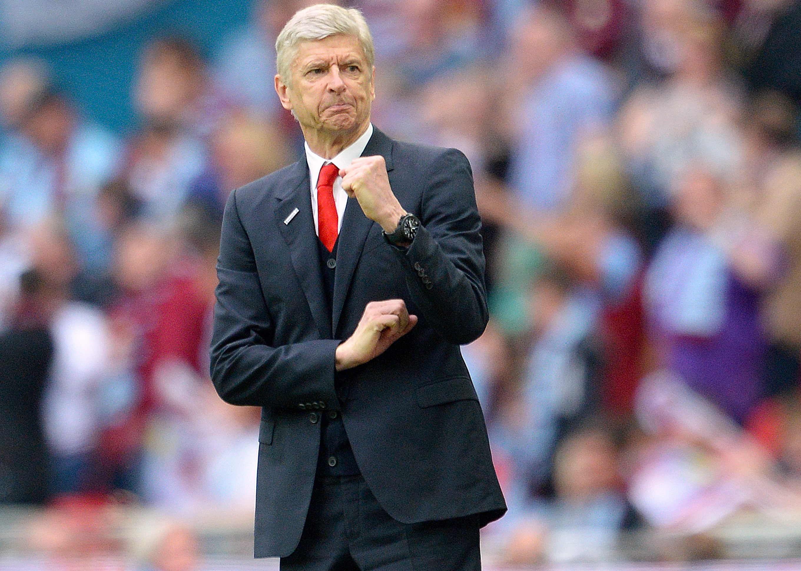 Twenty not out for a still 'hungry' Arsene Wenger