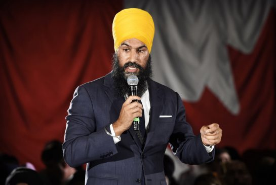 Jagmeet Singh comes out against Kinder Morgan pipeline in climate change plan