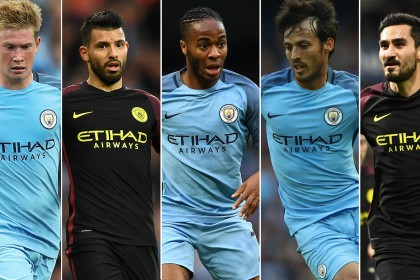 After Barcelona's MSN are defeated, will Man City's fans be cheering 'De Bass Gun' now?