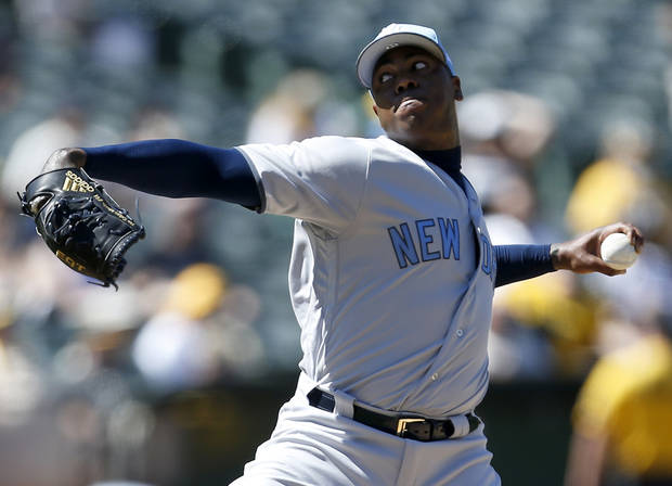 Yankees closer Aroldis Chapman returns from disabled list