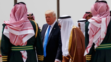 Trump arrives in Saudi Arabia to start 5-nation tour